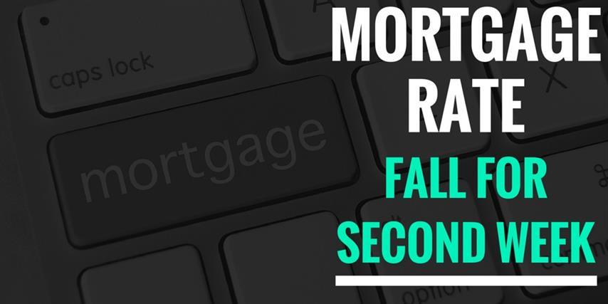 Mortgage rates fall  (Small)
