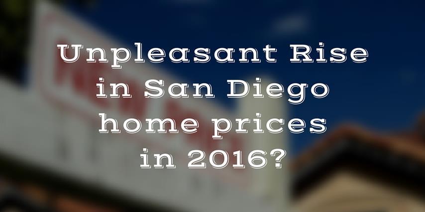 2016 San Diego Housing market outlook