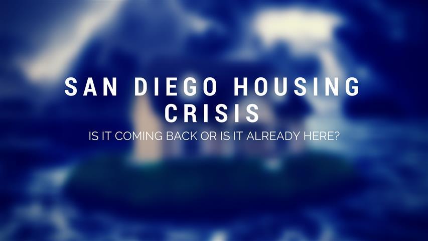 San Diego Housing Crisis